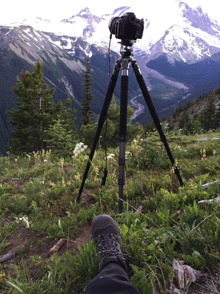 Waiting for the stars at Mt Rainier
